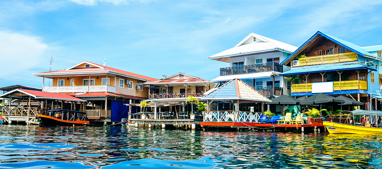 A stock photo of Bocas Del Toro, Panama.