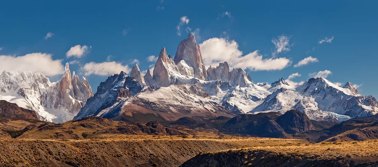 A stock photo of Monte Fitz Roy in the Southern Patagonia.